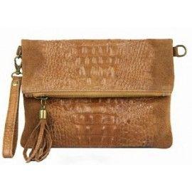 Женская кожаная сумка-клатч DB973