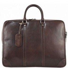 Женская кожаная сумка-портфель Bottega Carele BC805