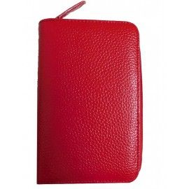 Женский кожаный кошелек DB-007rosso