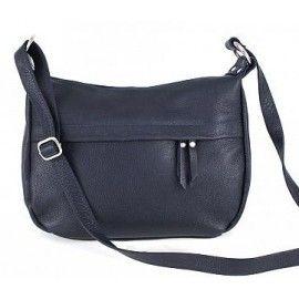 Женская кожаная сумка через плечо DB120