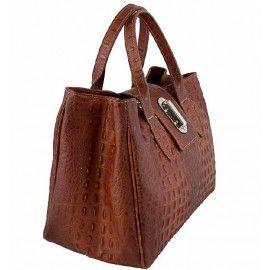 Кожаная женская сумка Italian bags DB11205-2