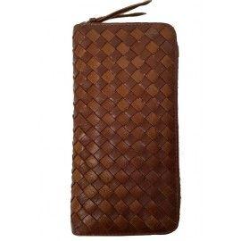 Кожаный женский кошелек на молнии TR8291C