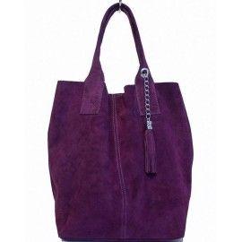 Женская замшевая сумка DB6813