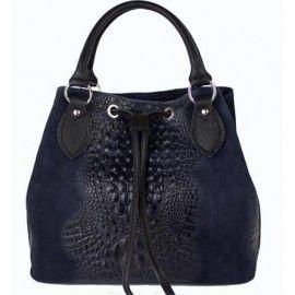 Кожаная женская сумка DB7005