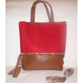 Сумка LOOKAT red/brown