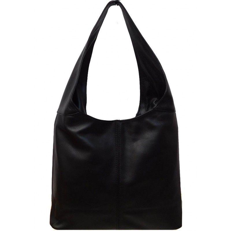 5b3f67caa882 Кожаная женская сумка-торба через плечо DB6951