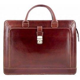 Кожаный деловой портфель Bottega Carele BC802