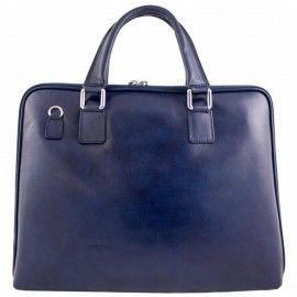 Женская кожаная сумка-портфель Bottega Carele BC801