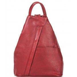 Женский кожаный рюкзак Italian bags DB6925