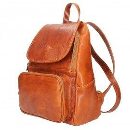 Кожаный рюкзак Bottega Carele BC722
