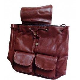 Кожаный рюкзак Italian bags DB6945
