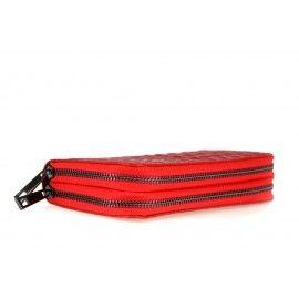 Женский кожаный кошелек на молнии DB516