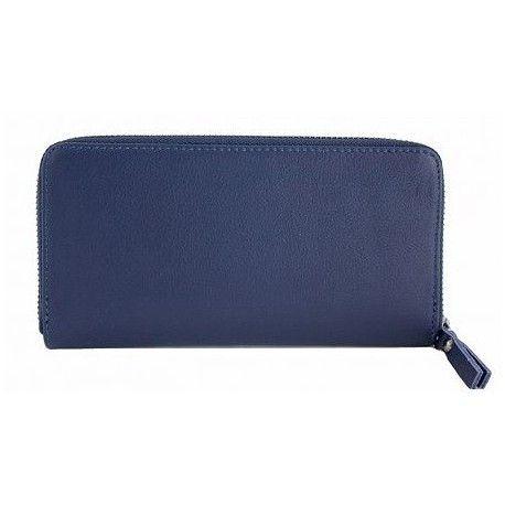 Женский кожаный кошелек на молнии DB511