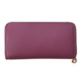 Женский кожаный кошелек на молнии Italian bags CP1RS