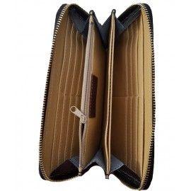Женский кожаный кошелек на молнии Italian bags CP1N
