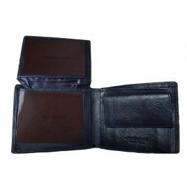 Мужской кожаный кошелек СОТ-H22B