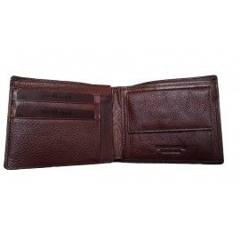 Мужской кожаный кошелек СОТ-H22TM