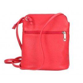 Женская кожаная сумка через плечо DB150